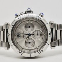 Cartier Pasha  Cronografo Acciaio 38 mm automatico