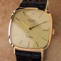 Rolex Geneve 1975 Cellini 18k Solid Gold Mechanical Hand Wind...