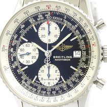 Breitling Polished Breitling Old Navitimer Steel Automatic...