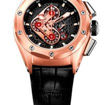 Cvstos Challenge-R50 HF Concept Men's Watch, Red Gold,...