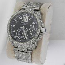 Cartier Calibre de Cartier Automatic W7100016 Black Dial Full...