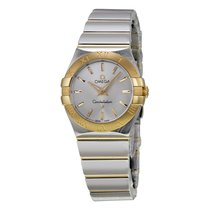 Omega Constellation Silver Dial Yellow Ladies Watch 1232027600...