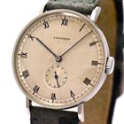 Longines Vintage Gentleman's Watch, Stainless Steel, 1940