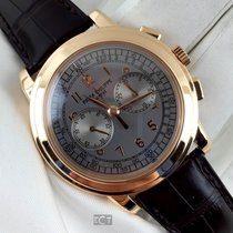 Patek Philippe Complications Grey Dial Rose Gold Chronograph...