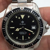Zodiac New Old Stock Red Dot Automatic Diver 1970's