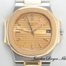 Patek Philippe Nautilus 3800 1 Stahl Gelbgold 750 Automatik
