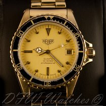 Heuer Vintage Yellow Gold Professional 100m Quartz 988.413