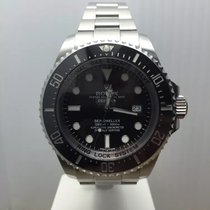 Rolex DeepSea Sea-Dweller SS B&P ref 116660 faint marks on...