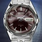 Seiko Actus Wine Red Stainless Steel 1970s Automatic Watch  Dn101