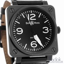 Bell & Ross Aviation BR 01-92 Stainless Steel Carbon Black...