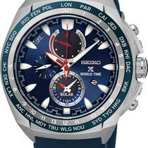 Seiko Prospex SEA Solar World Time SSC489P1 Herrenchronograph...