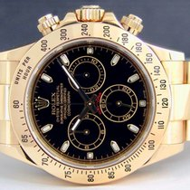 Rolex DAYTONA YELLOW GOLD NEW 2017 5 YEARS ROL GRANTEE BLACK DIAL