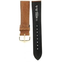 Hirsch Camelgrain Brown Leather Strap 18mm