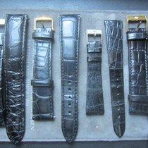 IWC Chrockobänder 18 mm mit alter IWC Stiftschließe 60er Jahre