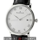 Blancpain Villeret Ultra Slim Automatic 40mm White Dial Ref....