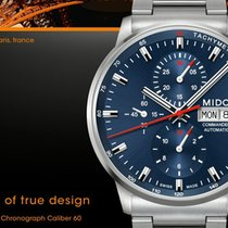 Mido Commander Chronograph Caliber 60