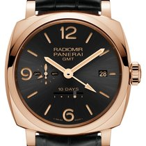 Panerai [NEW] Radiomir 1940 10 Days GMT Automatic Oro Rosso...