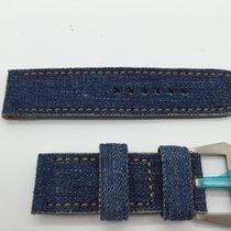 Panerai Strap handmade cinturino artigianale jeans luminor buckle