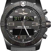 Breitling Exospace B55 Connected Metallic Grey Rubber Men'...
