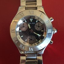 Cartier Must 21 Chronoscaph Steel
