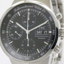 IWC Polished Iwc Gst Chronograph Steel Automatic Mens Watch...