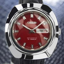 Citizen Hmc Vintage Rare Mens Day Date Japanese Manual Watch...