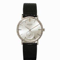 Longines Wristwatch,14K White Gold, Switzerland, 1950s