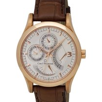 Carl F. Bucherer Carl F.  Manero 18K R/G Retrograde Men's...