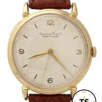 IWC Caliber 89 18K Yellow Gold Hand-Winding 36mm Watch