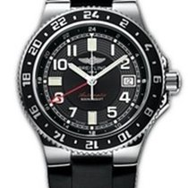 Breitling SuperOcean GMT Automatic Wristwatch 500 m WATER...
