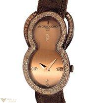 De Grisogono Be Eight 18K Rose Gold Diamonds Ladies Watch