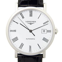 Longines Elegant Stainless Steel Silver Automatic L4.810.4.11.2