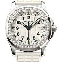 Patek Philippe Aquanaut Luce Ladies White Dial Diamond Bezel...