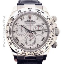 Rolex 18k white gold Daytona