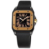 Cartier Santos 100 Pink Gold Medium Watch W2020007