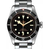 Tudor Heritage Black Bay 79230N Black Index Stainless Steel...