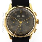 Doxa 18k yellow gold vintage 1950's Triple Date Chronograph
