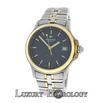 Raymond Weil Authentic Mens Parsifal 9090 Stainless Steel Gold...