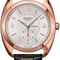 Hermès Dressage Automatic Petite Second GM 037808WW00