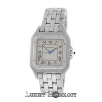 Cartier Mint Ladies Midsize Panthere 1310 Stainless Steel 27mm...