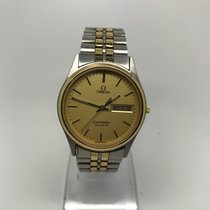 Omega SEAMASTER 1425 TWO TONE DAY-DATE QUARTZ WATCH YEAR 1983