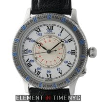 Longines Lindbergh Stainless Steel 38mm White Enamel Dial 75th...