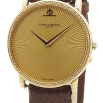 Baume & Mercier Classima Unisex Quartz Yellow Gold Oro...