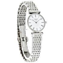 Longines Les Grandes Ladies White Dial Swiss Quartz Watch...