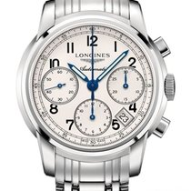 Longines The Saint-Imier 41mm L2.752.4.73.6 Steel Chronograph...