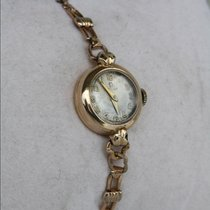 Omega ladies 9ct Gold Plated Vintage Watch