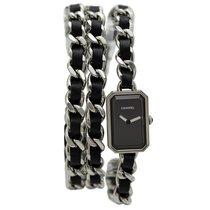 Chanel Première Rock Triple Row In Steel&Black Leather,...