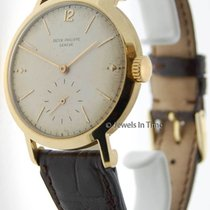 Patek Philippe 37mm Calatrava 2458 18K Gold Vintage Mens Watch...