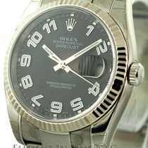 Rolex Datejust Stainless Steel Black Dial 36mm Ref. 116234