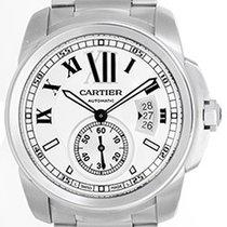 Cartier Calibre Stainless Steel Men's 42mm Watch W7100015
